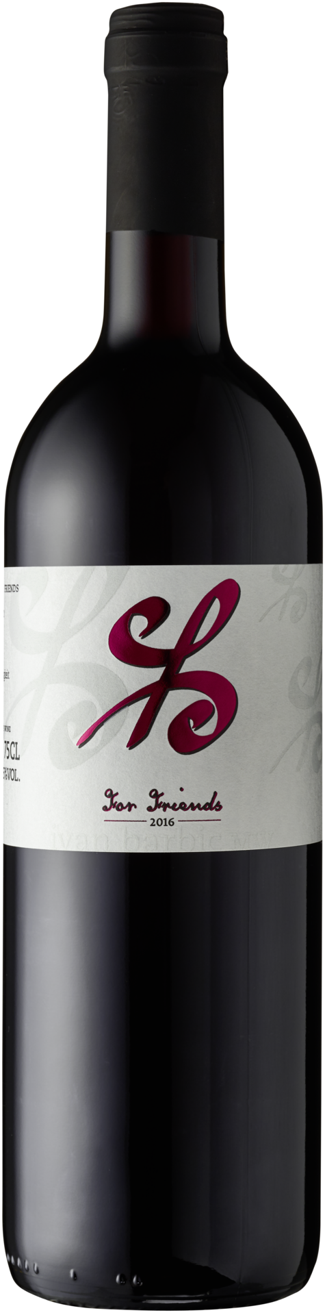 IVAN BARBIC For Friends -  Rouge, Vin de Pays Romand